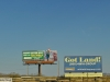 Advertisements on road from LV to Grand Canyon