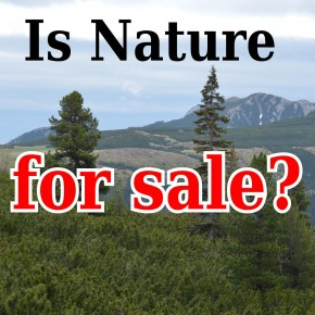 is nature for sale